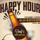 Beer Promotion Happy Hour Flyer