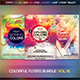 Colorful Flyers Bundle Vol. 51 - GraphicRiver Item for Sale