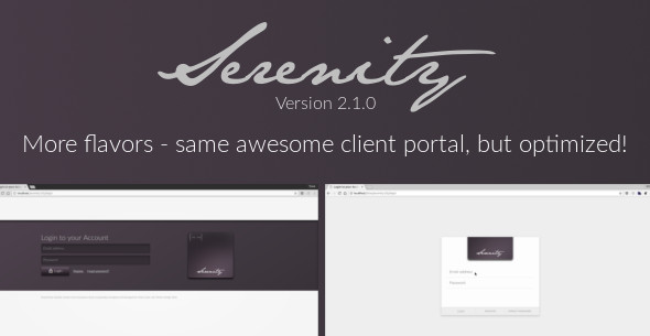 Serenity Client Management Portal nulled
