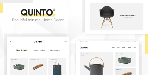 Quinto - Beautiful HTML Template