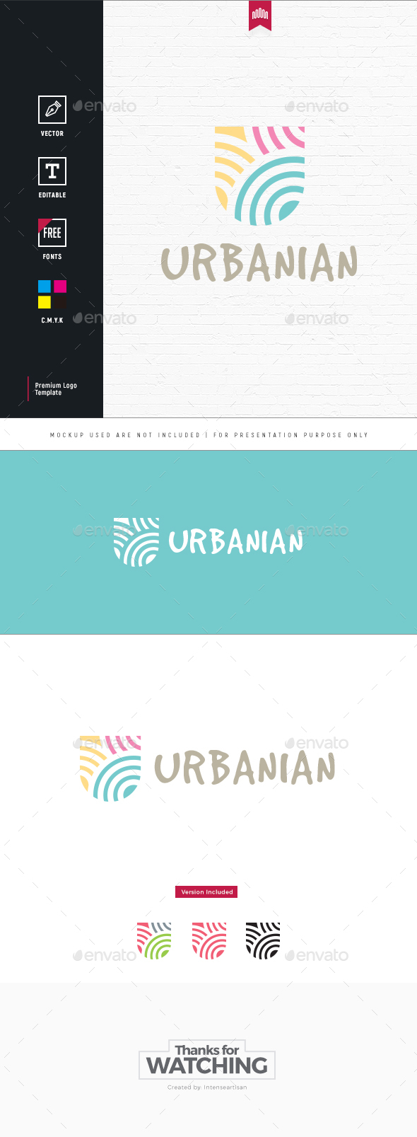 GraphicRiver Abstract U Letter Logo 20260853