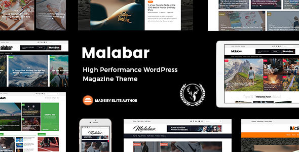 Malabar - High Performance WordPress Magazine Theme - News / Editorial Blog / Magazine