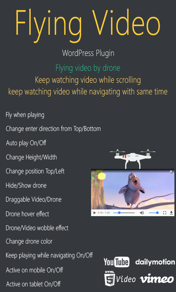 Flying Video