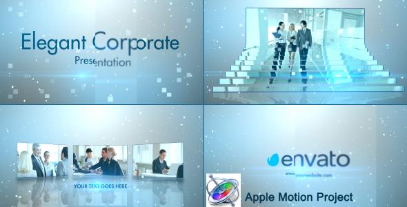 Simple Stylish Presentation - Apple Motion