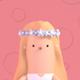 Toon Bridesmaid