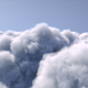 Fly Above The Clouds - VideoHive Item for Sale