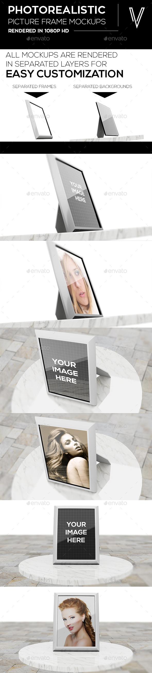 GraphicRiver Photo Frame Mockups 20256703