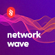 Gradient Network Wave Backgrounds