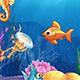Cartoon Underwater World - VideoHive Item for Sale