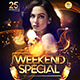 Weekend Special Flyer Template