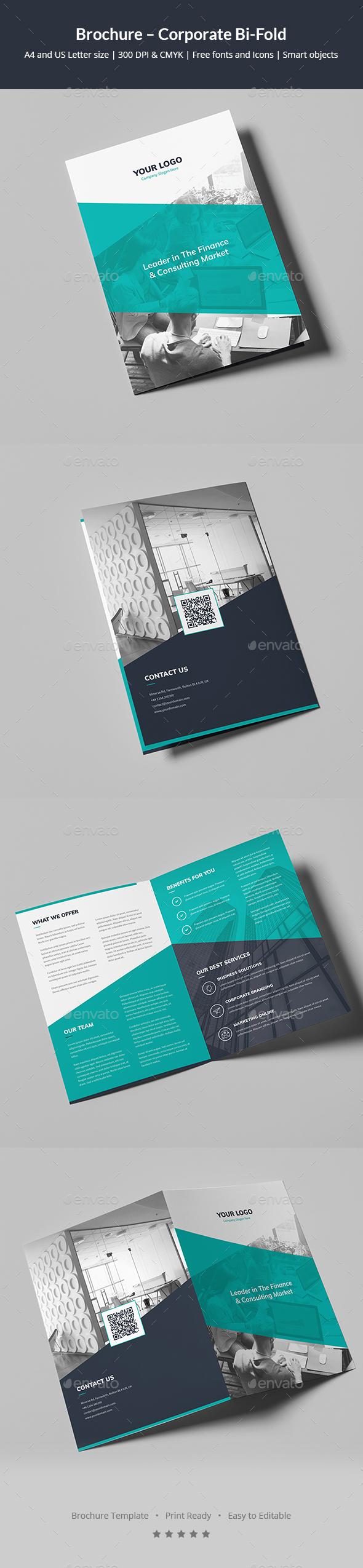 Brochure – Corporate Bi-Fold - Corporate Brochures