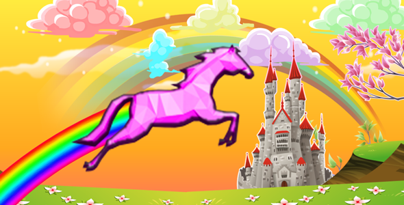 UNICORN JUMP - FULL VERSION - BBDOC + PSD - CodeCanyon Item for Sale