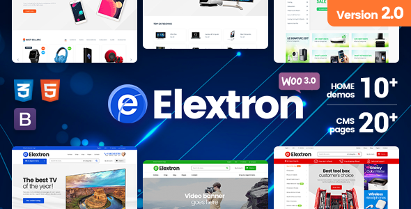 Elextron - Electronics & Digital Store for Responsive WordPress WooCommerce Theme
