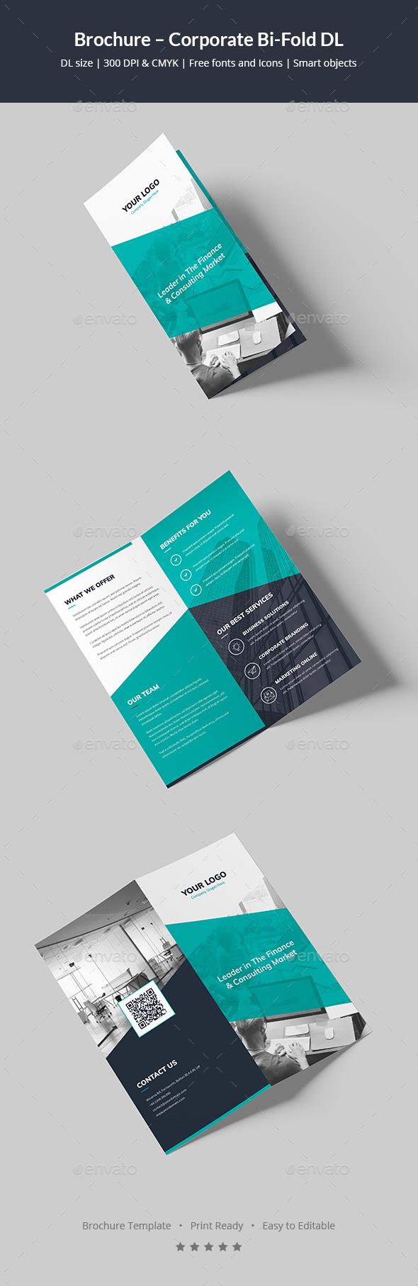Brochure – Corporate Bi-Fold DL - Corporate Brochures