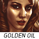 Golden Oil Paint Action - GraphicRiver Item for Sale
