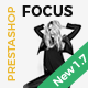 Focus - Advanced Multipurpose Responsive Prestashop 1.6 & 1.7 Theme Nulled