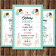 Birthday Party Invitation Flyer V21