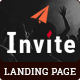 INVITE - Multipurpose Responsive HTML Landing Pages - ThemeForest Item for Sale