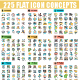 Flat Web Icons - GraphicRiver Item for Sale