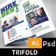Tutor Trifold Brochure
