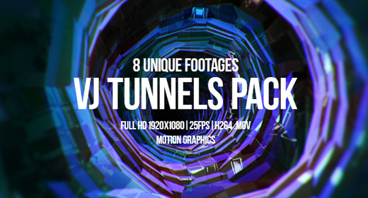 Vj Tunnels Pack