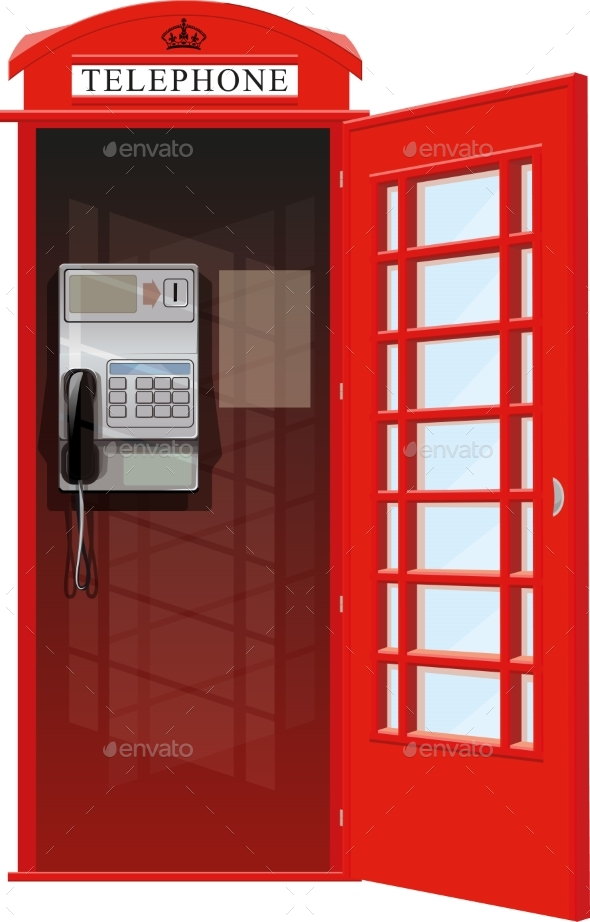 GraphicRiver London Telephone Booth 20263920