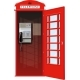 London Telephone Booth - GraphicRiver Item for Sale