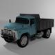 Truck dump truck