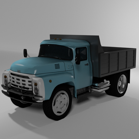Truck dump truck - 3DOcean Item for Sale