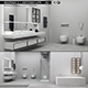 Bathroom furniture set Bespoke 3 - 3DOcean Item for Sale