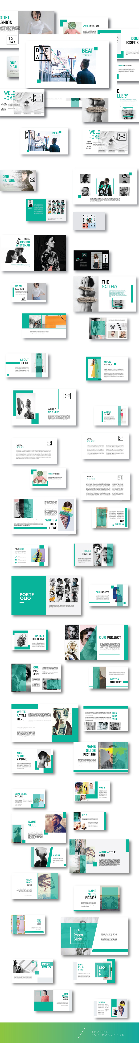 Multipurpose Creative Template Powerpoint - Business PowerPoint Templates