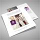 Square Tri-Fold Fashion Brochure 03 - GraphicRiver Item for Sale