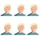 Set of Face Icons - GraphicRiver Item for Sale