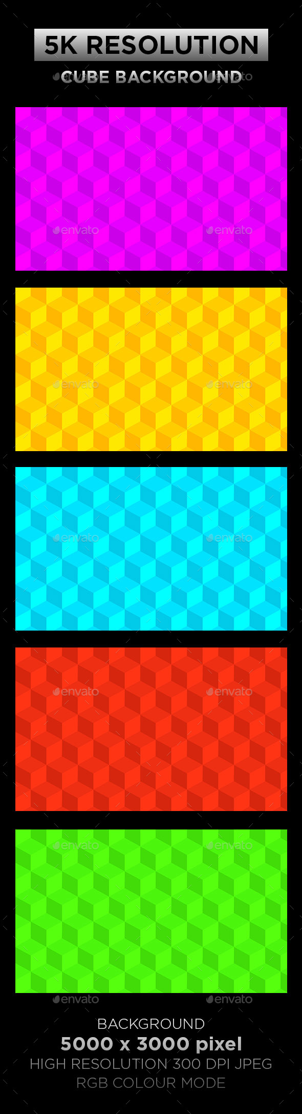 Cube Background 001 - Backgrounds Graphics