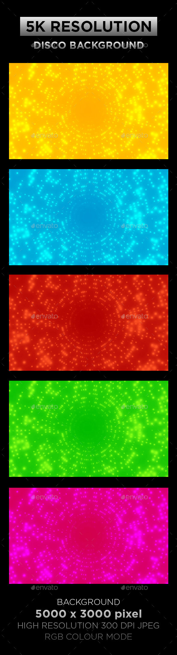 Disco Background 002 - Backgrounds Graphics