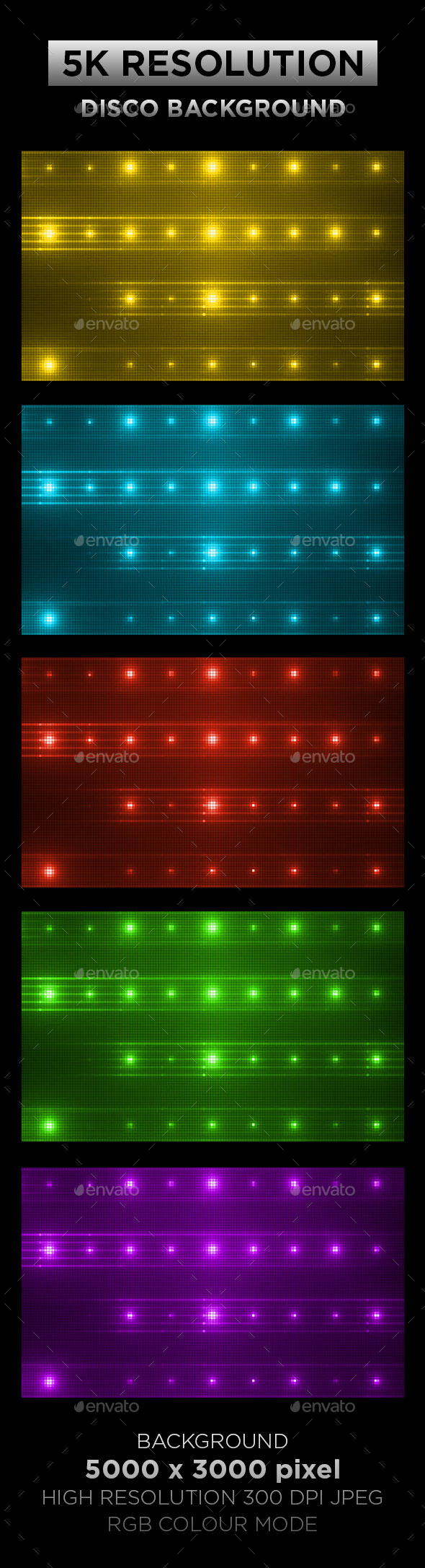 Disco Background 003 - Backgrounds Graphics