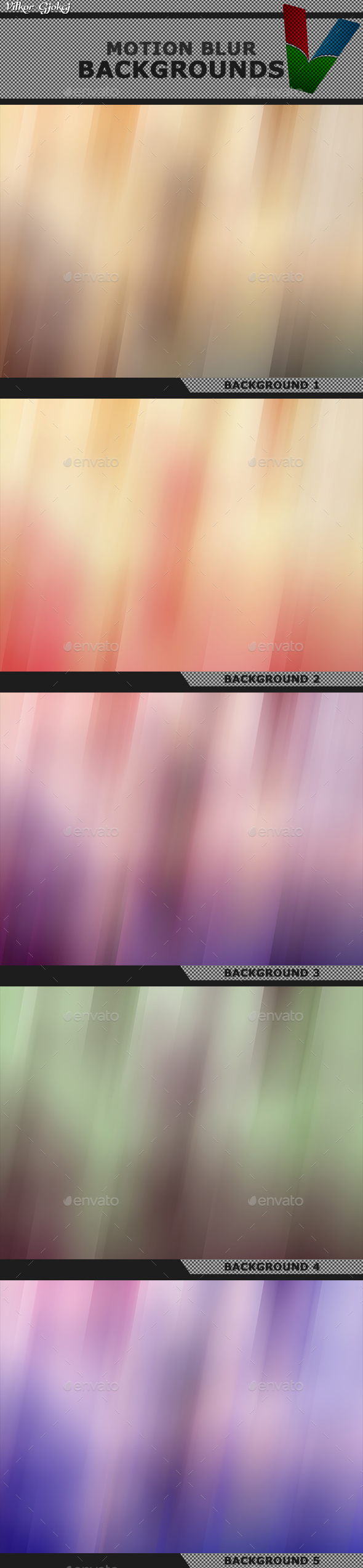 Motion Blur Backgrounds - Backgrounds Graphics