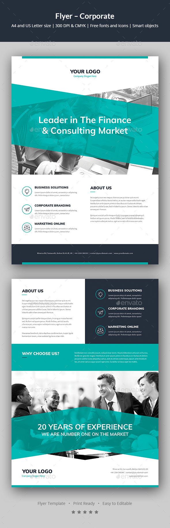 Flyer – Corporate - Corporate Flyers