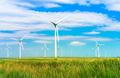 wind turbines in the field - PhotoDune Item for Sale