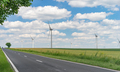 Driving through the wind farm - PhotoDune Item for Sale