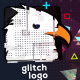 Glitch Logo with Quick Slideshow - VideoHive Item for Sale