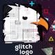 Glitch Logo with Quick Slideshow