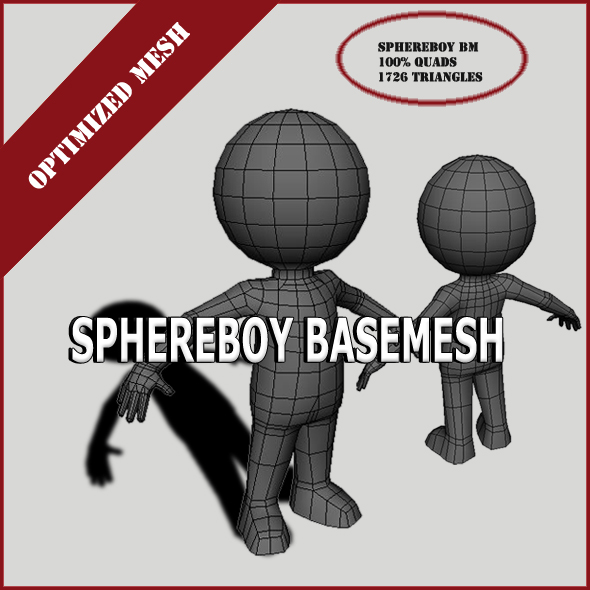 SphereBoy - 3DOcean Item for Sale