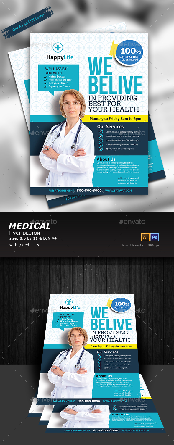Medical Flyer - Flyers Print Templates