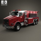 Kenworth T800 Fire Truck 3-axle 2005
