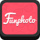 Funphoto (Stickers App) HTML5 Canvas