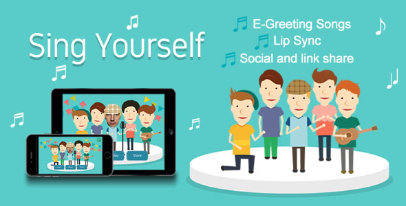 Sing Yourself (Greeting Card) HTML5 Canvas nulled free download