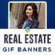 Real Estate GIF Banners