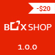 BoxShop - Responsive WooCommerce WordPress Theme Nulled