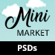 MiniMarket - Multi-Purpose Supermarket Grocery PSD Template - Kid Toys Foods Apparel Fashion - ThemeForest Item for Sale